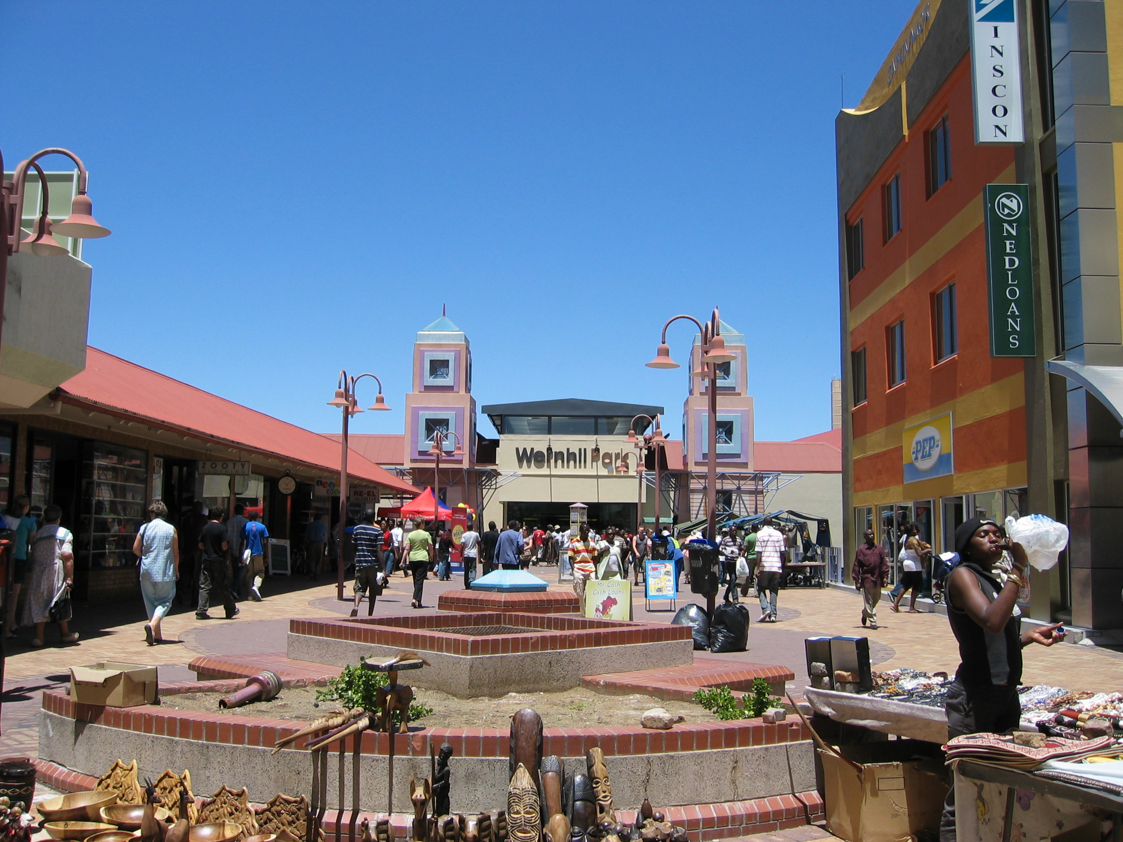 Windhoek Namibia  city images : Post Street Mall and Town Square