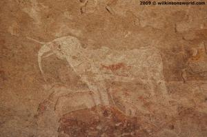Bushman Rock painting